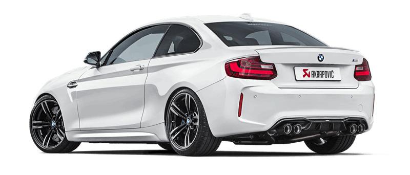 Akrapovic Evolution Line Titanio BMW M2 F87
