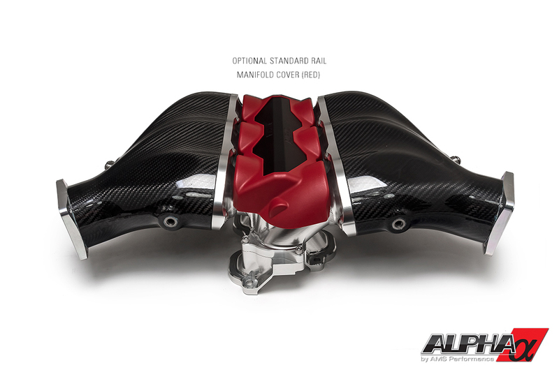 Alpha-GT-R-Carbon-Fiber-Intake-Fuel-Rail-cover-red