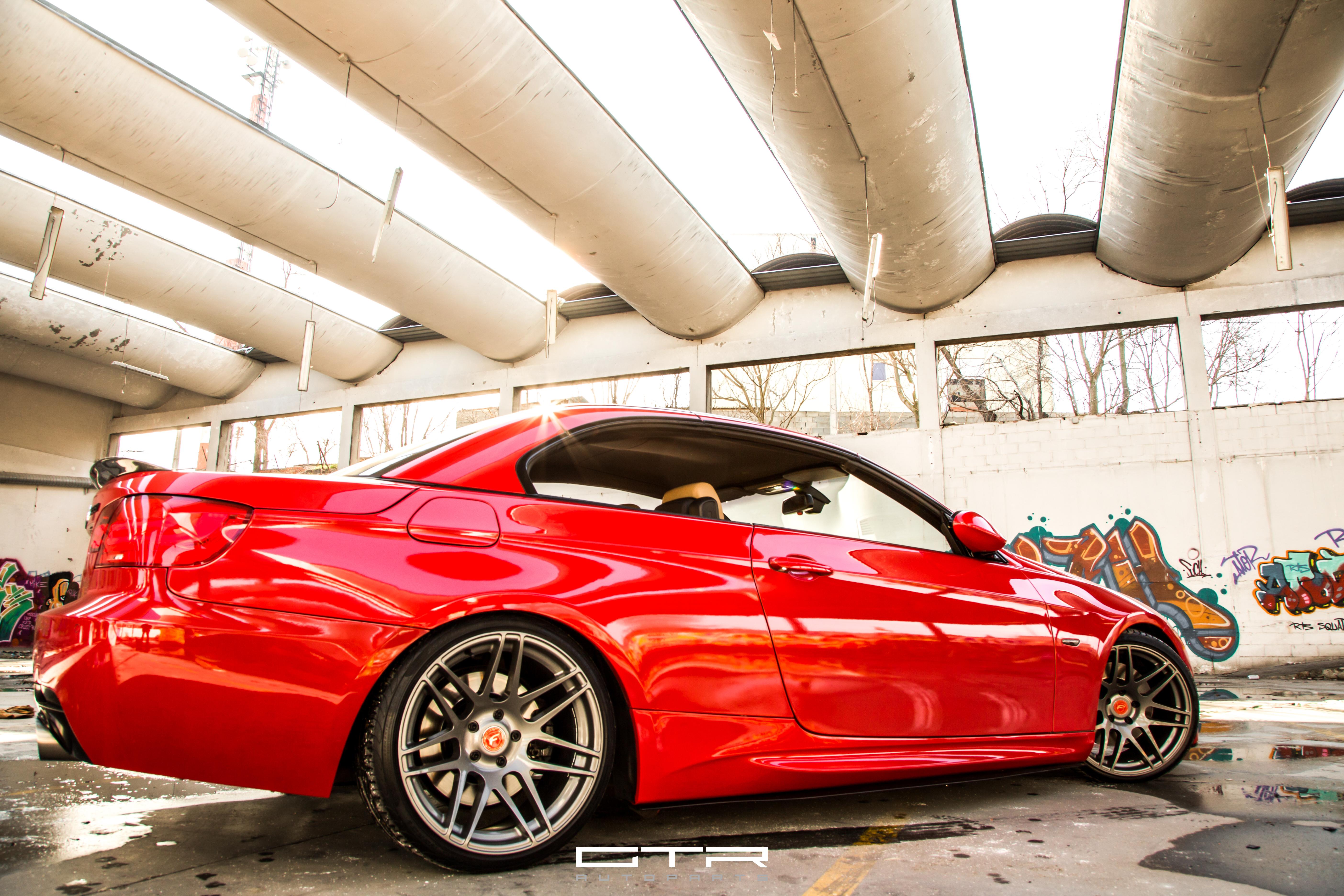 BMW 335i Cabrio e93 By GTR Autoparts