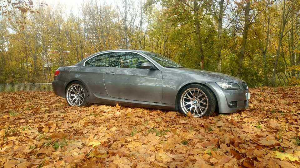 "BMW 335i e93 cabrio llantas Avant Garde 19"""